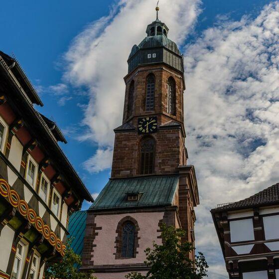 Marktkirche St Jacobi außen