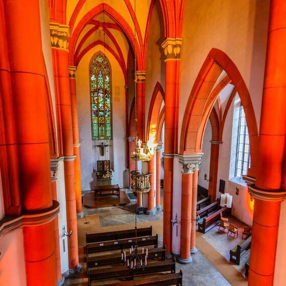 Marktkirche St Jacobi innen