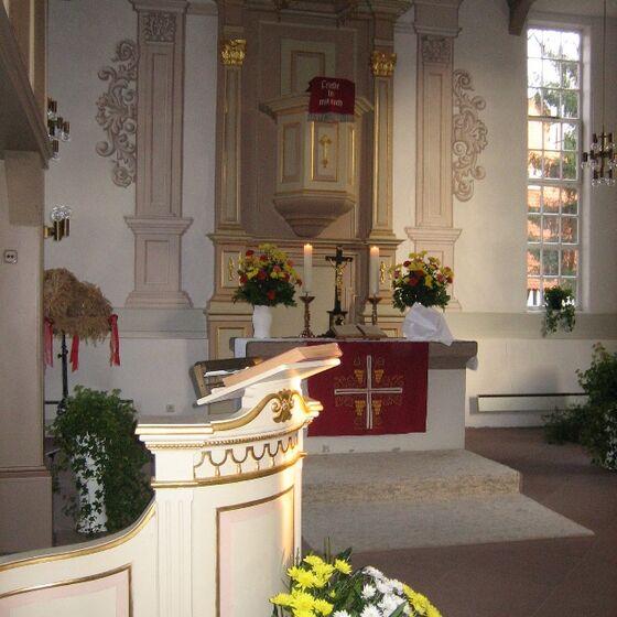 St. Martini Kirche Berka innen