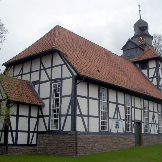 St. Martini-Kirche Berka Aussenansicht