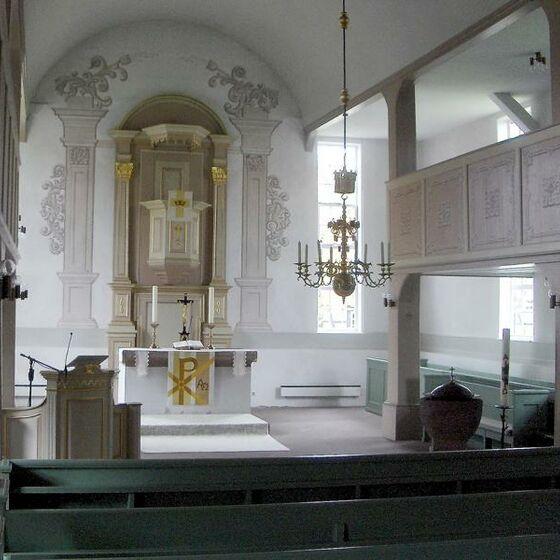 St. Martini-Kirche Berka innen