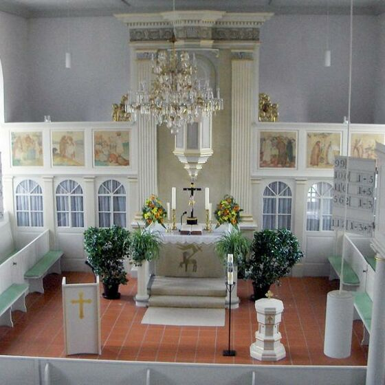 St. Petri-Kirche Hammenstedt innen