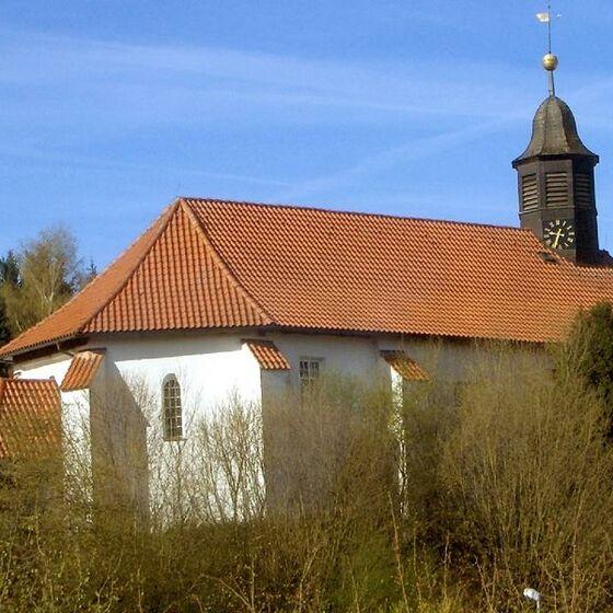 St. Valentini-Kirche Elvershausen Aussenansicht
