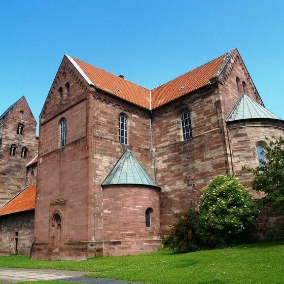 Fredelosloh Klosterkirche außen