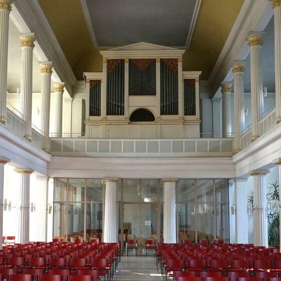 Liebfrauenkirche innen Foto Pastor Büttner