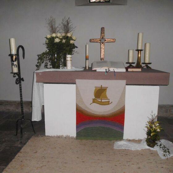 Kirche Wahmbeck innen