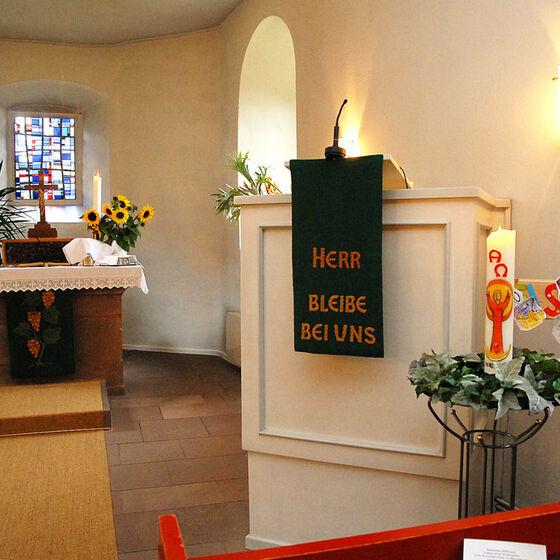 Kirche Hilwartshausen Innen
