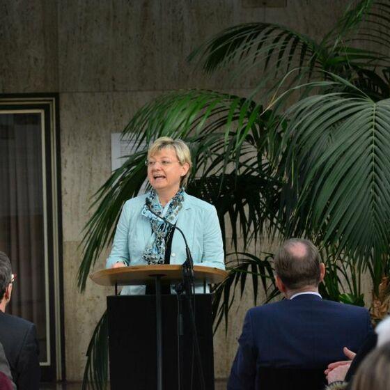 Kulturministerin Frauke Heiligenstadt. Foto: H.-J. Thoms