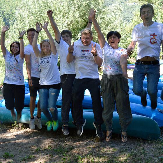 Kirchenkreis Sommerfreizeit - die Teamer
