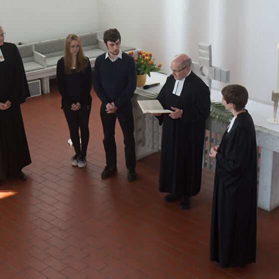 Einführung der Jugendpastoren. Foto Hans-Jürgen Thoms