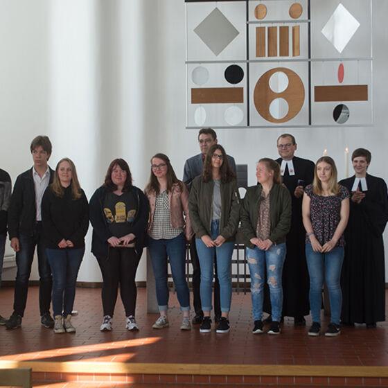 Die Absolventen der JuLeiCa. Foto Hans-Jürgen Thoms