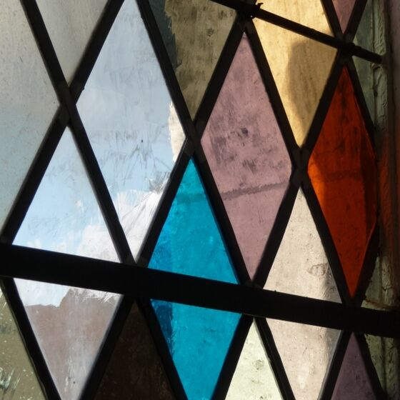 Westfenster der Christuskirche Wolfsburg
