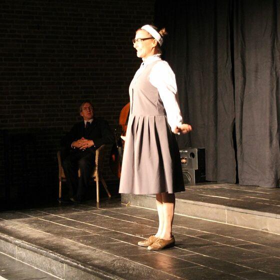 Karin Schröder vom Theater Metronom