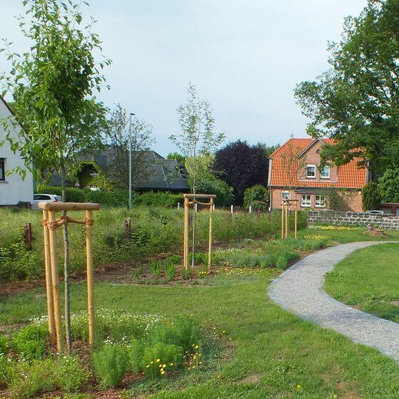Neugestaltung Friedhof Garmissen St. Lukas