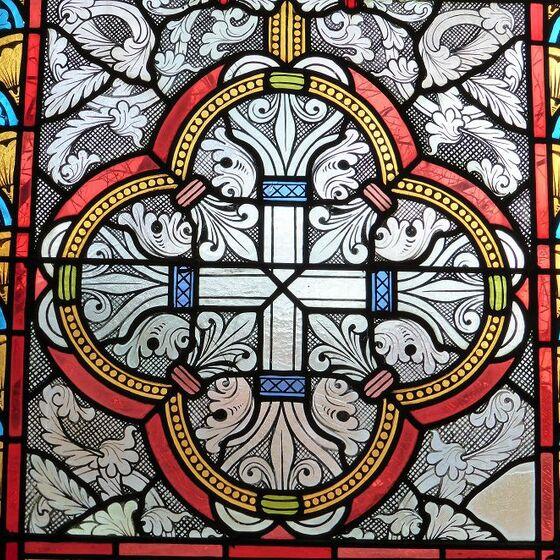 Fenster -Kreuz