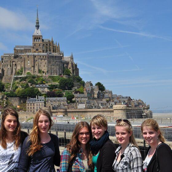 Frankreich 7.2013 Mont Saint Michel