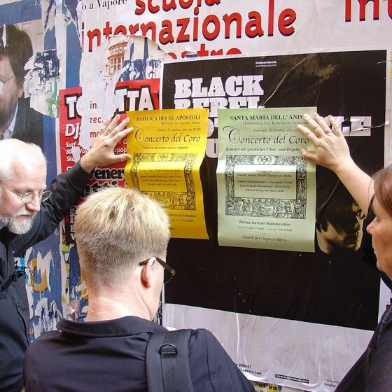 Rom 10.2005 Plakate