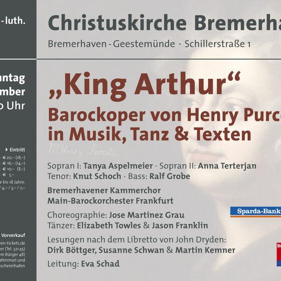 Plakat King Arthur 2012
