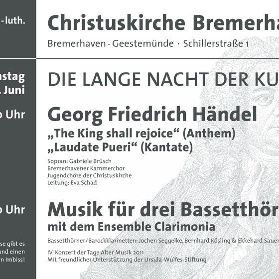 Plakat Kulturnacht 2011