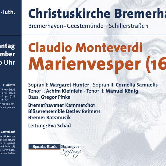 Plakat Marienvesper 2010