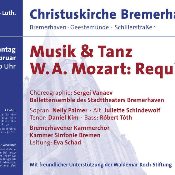 Plakat Mozart-Requiem 2010