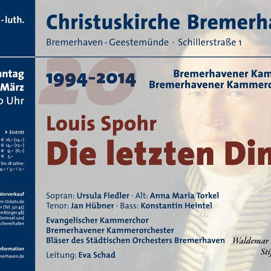 Plakat Spohr 2014
