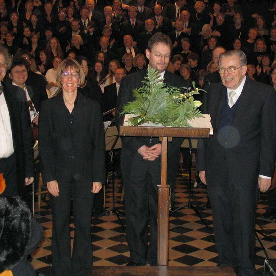 40 Jahre Stadtkantorei 12.2003-2
