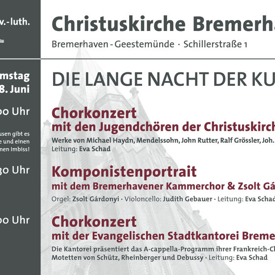Plakat Kulturnacht 2013