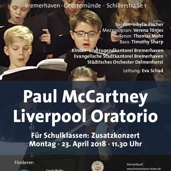 Plakat Liverpool Oratorio 2018