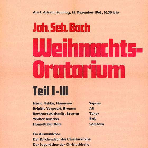 Plakat WO 1963