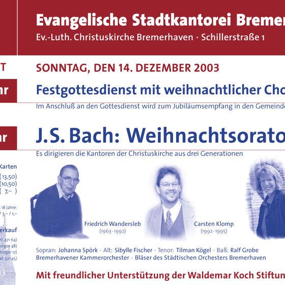 Plakat WO 2003