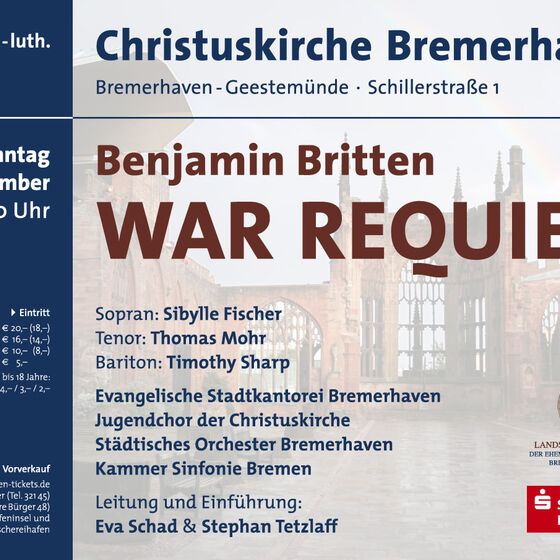 Plakat War-Requiem 2012