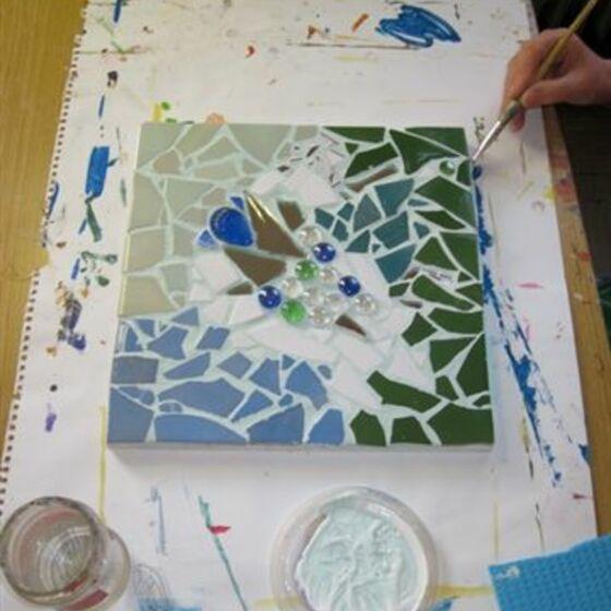 mosaik bild