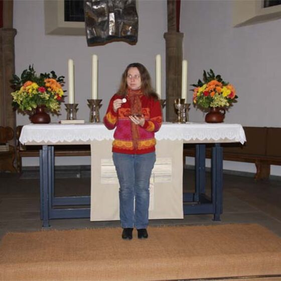 Liturgische Präsenz Brot