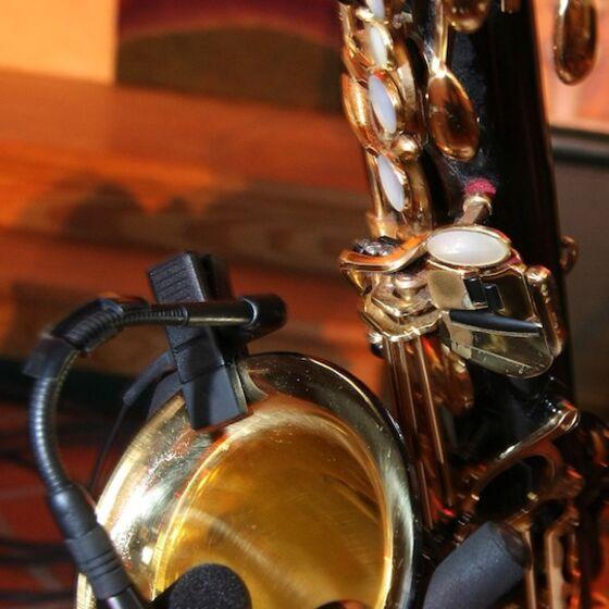Saxophon u Kirche