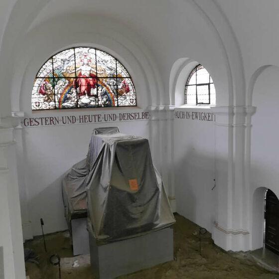 Altarraum von oben