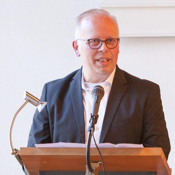 Andreas Rauterberg berichtet als Baubeauftragter