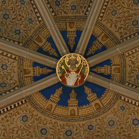 Schlussstein St. Servatius