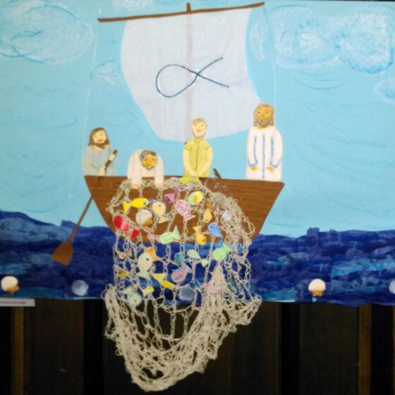 Jesus der Menschenfischer