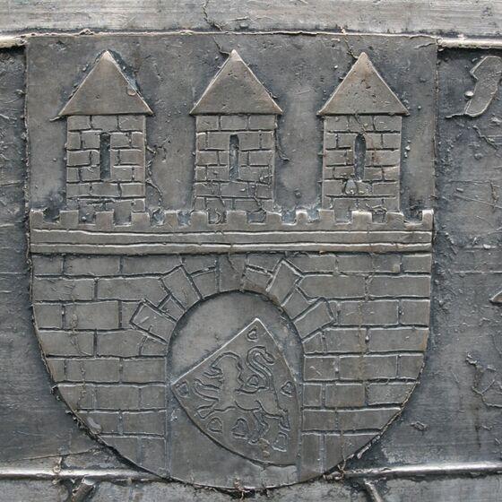 Friedensglocke Glockenzier-Stifterwappen Stadt Celle