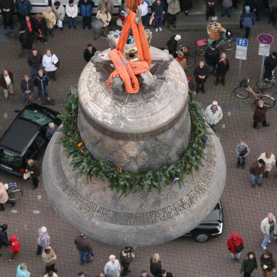 Aufzug Friedensglocke 28.10.2008
