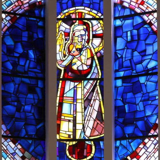 Christuskirche Fensterbild