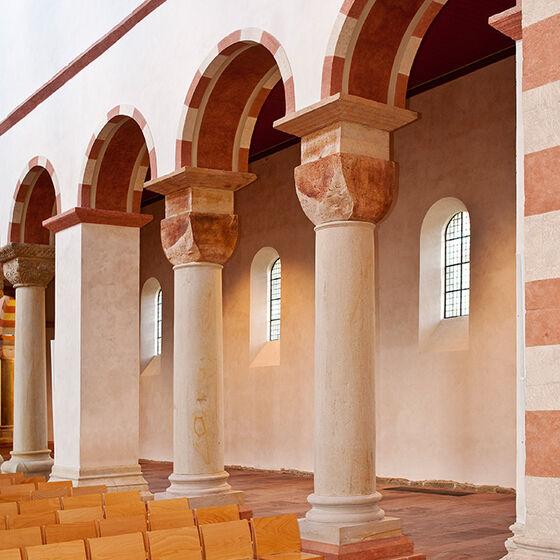 Michaeliskirche Hildesheim Stützenwechsel