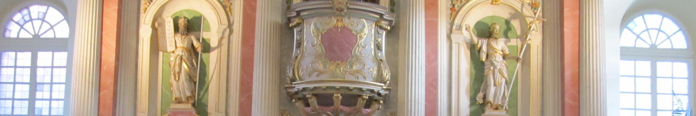 Panorama Altar Kanzel