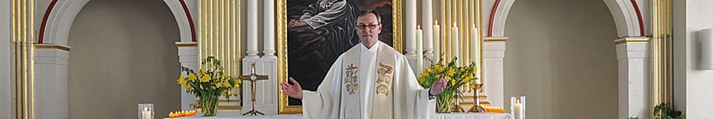 Altarausschnitt Ostern