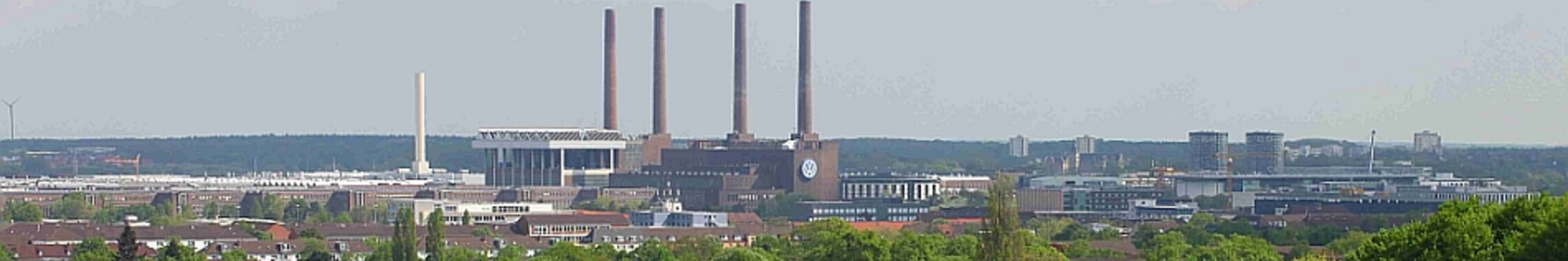 Wolfsburg vom Klieversberg aus gesehen. Foto (Ausschnitt) Frank Morgner