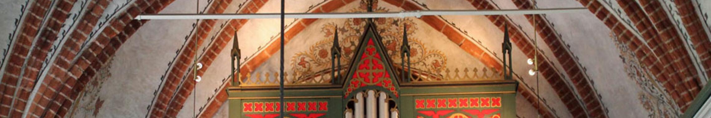 Orgelprospekt der Sankt Laurentiuskirche Müden