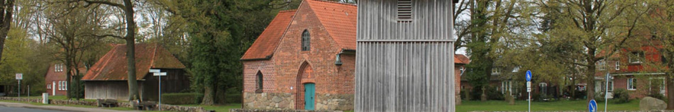 Panorama-Ansicht der Wolterdinger Dorfkirche