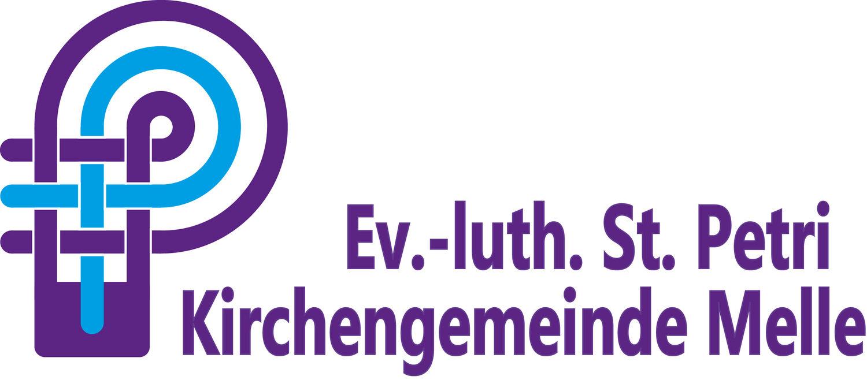 Logo St. Petri lila mit lila Schriftzug