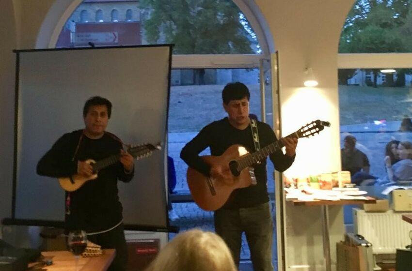Musikduo Weltcafé